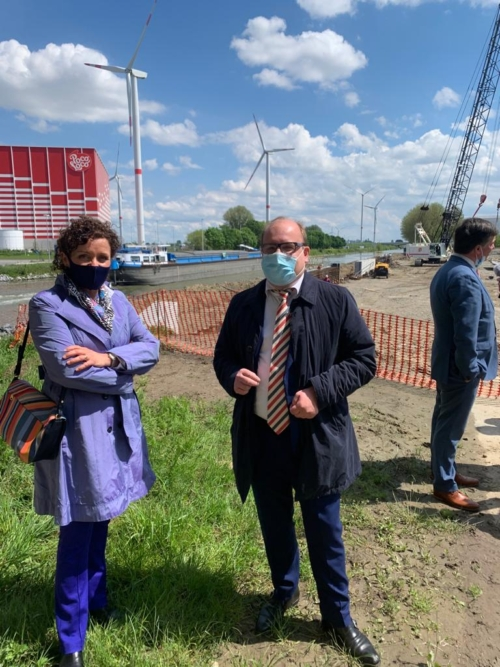 River Terminal Roeselare Lydia Peeters